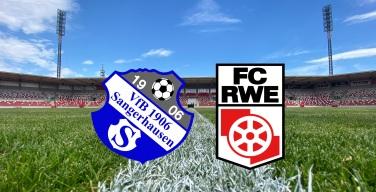 Testspiel gegen den VfB Sangerhausen