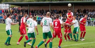 Der RWE schießt sich mit einem deutlichen 7:0 in die nächste Pokalrunde