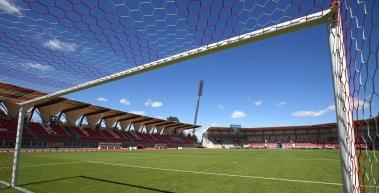 Platzbegehung zum Spiel gegen VfB Germania Halberstadt