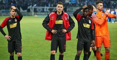 Auswärtsniederlage gegen Tabellenführer Chemnitzer FC