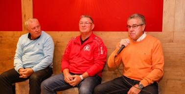 RWE-Kaffeekränzchen mit Jürgen Heun, Martin Busse und Dieter Göpel