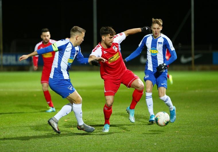 17. Spieltag 2019/20 Hertha BSC II - FC Rot-Weiß Erfurt