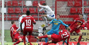 Saison 2017/18, 15. Sptg FC Rot-Weiß Erfurt - Sportfreunde Lotte 2:3