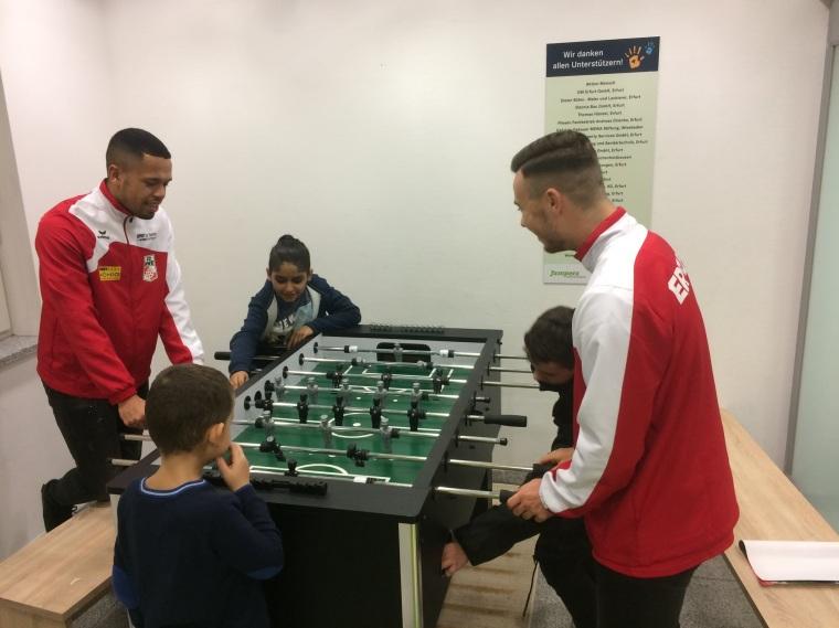 Besuch im Jumpers Kinder- und Jugendzentrum