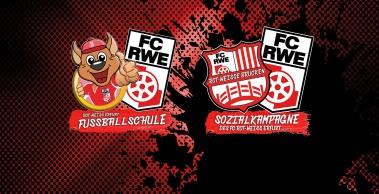 FC Rot-Weiß Erfurt startet Sozialkampagne und Fußballschule