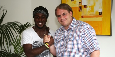 George Kelbel wechselt zum FC Rot-Weiß Erfurt