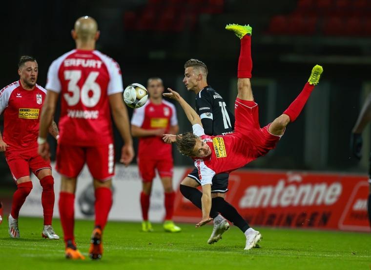 14. Spieltag 2019/20 Rot-Weiß Erfurt - VfB Germania Halberstadt