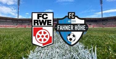 Vorbericht zum Spiel gegen den FC An der Fahner Höhe