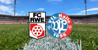 Heimspiel gegen den VfL Halle 96 ohne Zuschauer