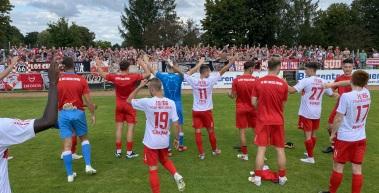 Rot-Weiß Erfurt und der FC Einheit Rudolstadt trennen sich 1:1 Unentschieden