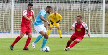 Der FC Rot-Weiß Erfurt unterliegt dem FC Viktoria Berlin mit 0:2