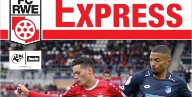 RWE-Express 03. Ausgabe 2017/18 - Spiel gegen den SC Paderborn