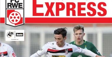 RWE-Express 09. Ausgabe 2017/18 - Spiel gegen den SV Meppen