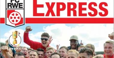 RWE-Express Sonderausgabe - DFB-Pokalspiel gegen die TSG 1899 Hoffenheim