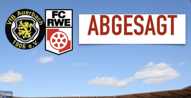 Spiel gegen Auerbach abgesagt