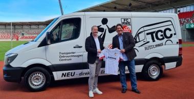 Russ & Janot GmbH wird Business-Partner beim FC Rot-Weiß Erfurt