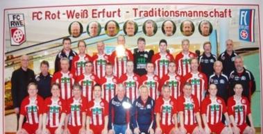 Traditionsmannschaft wieder zurück im Verein