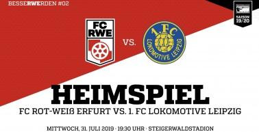 Vorbericht zum Heimspiel gegen den 1.FC Lok Leipzig